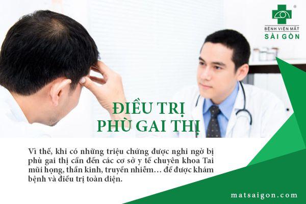 điều trị phù gai thị